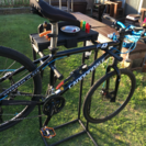 DIY  自転車作業台2