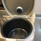 取引中【民泊などにも!】ナショナルNational炊飯器(5号炊き) - 家電