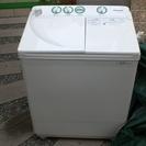 2015年式 Panasonic NA-W40G2 今ブームの2層式洗濯機 の画像