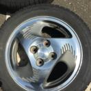 アルミ・タイヤ4本セットの画像