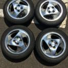 アルミ・タイヤ4本セット - 車のパーツ