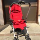 【最終値下】Combi ベビーカー 赤 コンビ 自立式