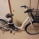 【取引終了】電動アシスト自転車 変速ギア付 2~3年使用