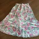 値下げ❣️花柄フレアスカート