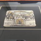 イスラエル・エルサレムミニチュア絵画(鋳造)