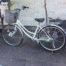 自転車差し上げます。