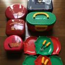 ランチBox、重箱、皿フォーク、弁当箱