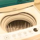 美品⭐︎Haier洗濯機(2016年製造)