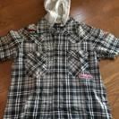 Mサイズ フード付き シャツ