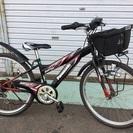 ★パナソニック・24インチ・ジュニア自転車・外装6段変速・マウンテン