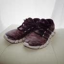 【Thanks】adidas カモフラ ランシュー 26.5cm...
