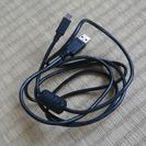 【美品】USB2.0ケーブル 1m Aオス-miniBオス