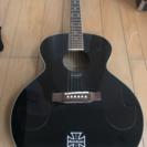 アコースティックギター エピフォン 黒