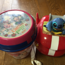 Disneyランドとシーのポップコーンバケツ  2個セット