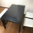 再募集、ルームズ大正堂 ダイニングテーブルと椅子セット