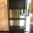 再募集  IKEA 本棚 4段 キズや汚れあり
