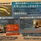 筋膜について学ぶ スキンストレッチ