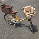 マルイシ★フラッカーズコモ★子供乗せ自転車★壌渡証明あり