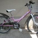 (商談中)子供用自転車 22型 6段変速 ヘルメット付