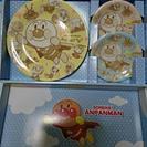 アンパンマンお皿 3枚セット/画像1、画像2 各1500円