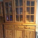 【直接引取】イタリアの家具 食器棚(大) 大幅値下げ!