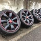 RH NAQ マキシライト タイヤホイール4本セット 美品17インチ
