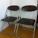 ④格安中古イス・チェアー折畳椅子・パイプイス・スチール折れイス ...