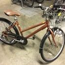 ギアつき自転車