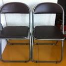 ⑤格安中古イス・チェアー折畳椅子・パイプイス・スチール折れイス ...