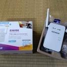 【取引終了】無線LAN中継機 NETGEAR EX6100 (1...