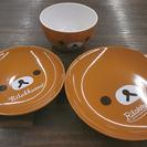 ローソン リラックマ ガラス 器 丸皿 プレート セット 食器 ...