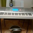 【中古】電子ピアノ キーボード CASIO CTK-4000 椅...