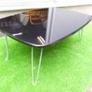 黒 折りたたみ式 座卓