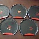 和菓子皿 5枚セット
