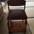 ☆学習椅子☆高さ調整可能です