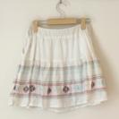チャオパニック刺繍スカート