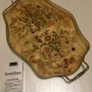 イタリア製ピアノ塗装トレー(松坂屋)