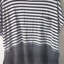 【近日中処分予定】【再値下げ】ボーダー切り替えTシャツ