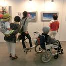 「絵画展 口と足で表現する世界の芸術家たち」(福井)