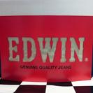 レアモノ! EDWINの非売品ディスプレイ