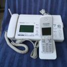 panasonicFAX付き電話機