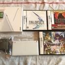 【現在取引中】NintendoDS Lite本体&カセット4本セッ...