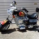 アメリカンなミニモーターバイク♪ 子供用 乗り物 おもちゃ  150