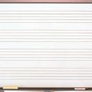 ホワイト五線ボード(4段入)
