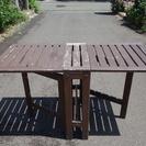 【IKEA】ÄPPLARÖ 屋外用テーブル&チェア