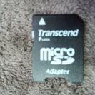 変換アダプター(microSD→SD)とケース