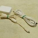 【取引完了】【中古】Docomo純正充電アダプター&USBケーブル