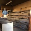 大きい木材 建物の建材 はり