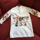 新品‼️フォーマル ブラウス M 蝶々 ちょうちょ 白