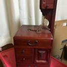 年代物裁縫箱。